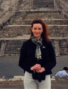 Florence Cassez en Teotihuacan