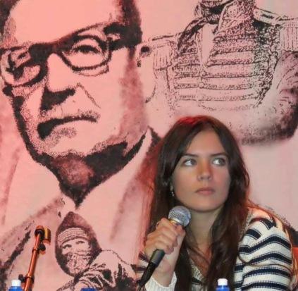 Fotografía: Camila Vallejo, diputada del Partido Comunista chileno.